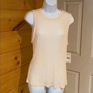 NWT Free people soft peach tank top size Small